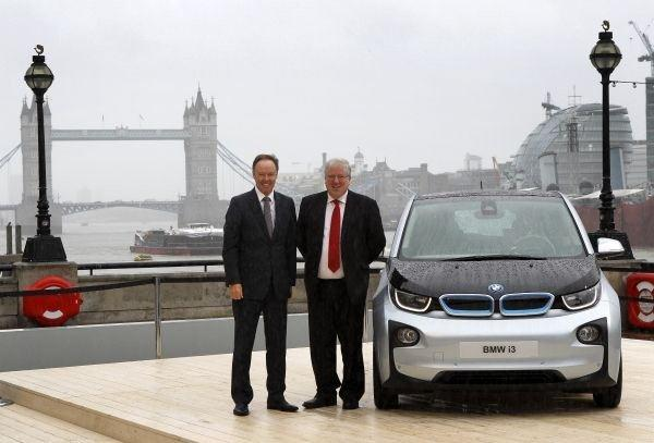 Revolutionary Bmw I3 Welcomed By Uk Government Minister And Mayor Of